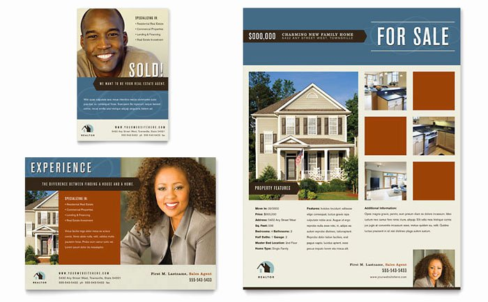 House for Sale Flyer Fresh Residential Realtor Flyer & Ad Template Design