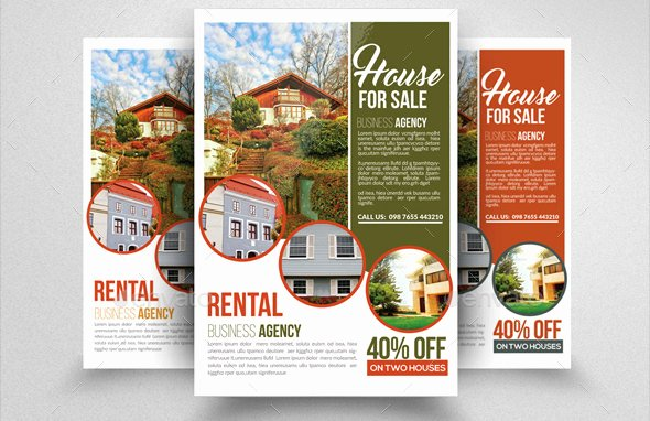 House for Sale Flyer Inspirational 14 for Sale Flyers Word Psd Ai Eps Vector formats