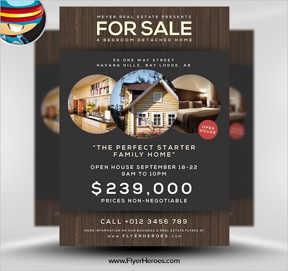 House for Sale Flyer Inspirational 22 Stylish House for Sale Flyer Templates Ai Psd Docs