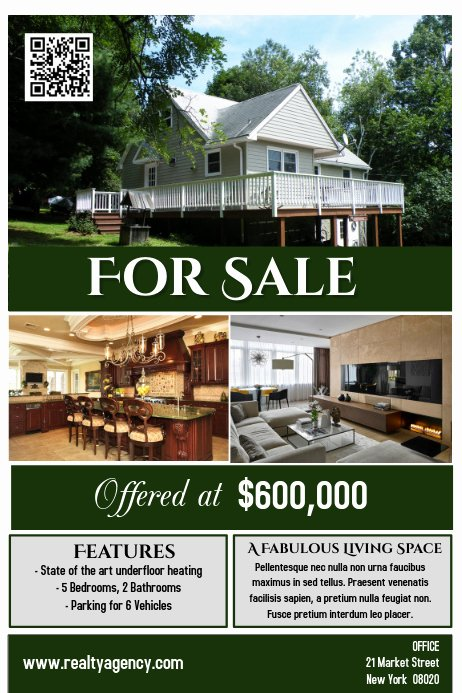 House for Sale Flyer Inspirational House for Sale Flyer Poster Real Estate Template