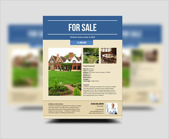 House for Sale Flyer Lovely 22 Stylish House for Sale Flyer Templates Ai Psd Docs