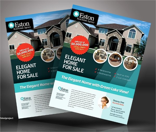 House for Sale Flyer Luxury 20 for Sale Flyers Psd Ai Eps format Download