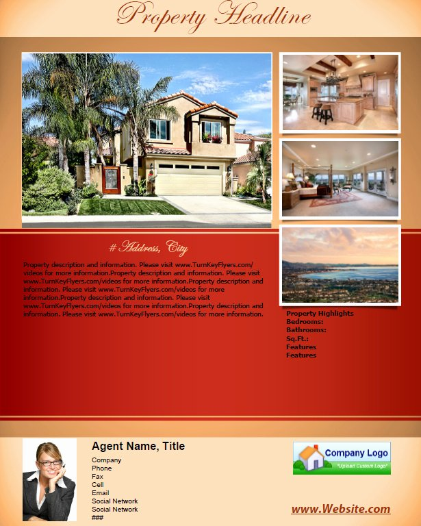 "House for Sale Flyer Luxury Flyer Templates for ""for Sale by Owners"""
