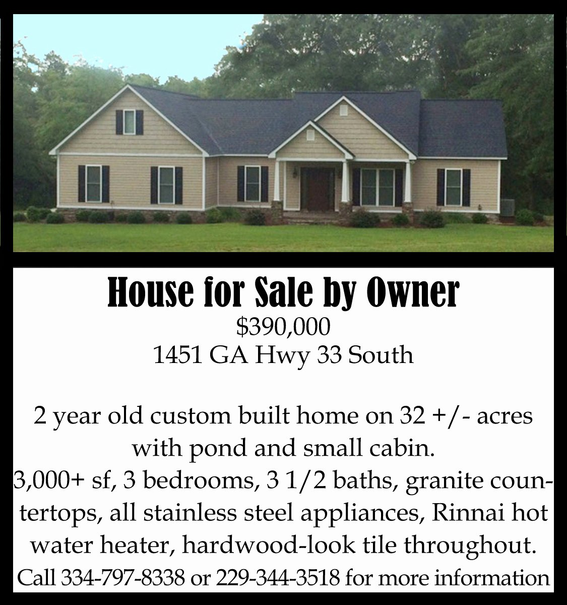 House for Sale Flyer Unique House for Sale