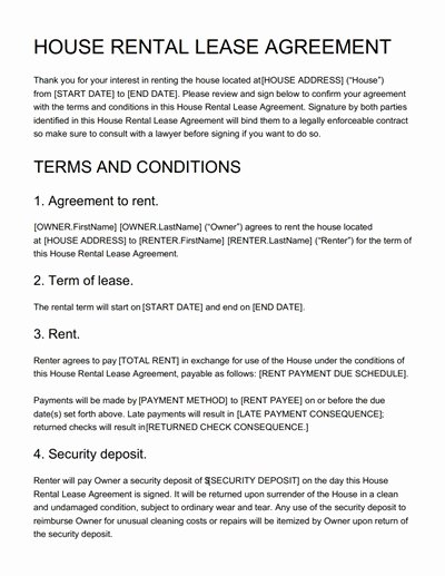 House Rental Agreement Template Awesome House Rental Agreement Template Free Download Edit Print