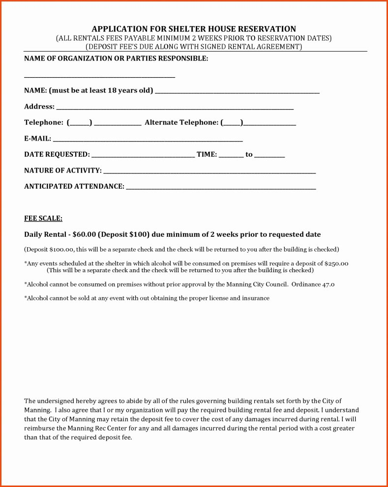 House Rental Agreement Template Fresh Rent Agreement for House