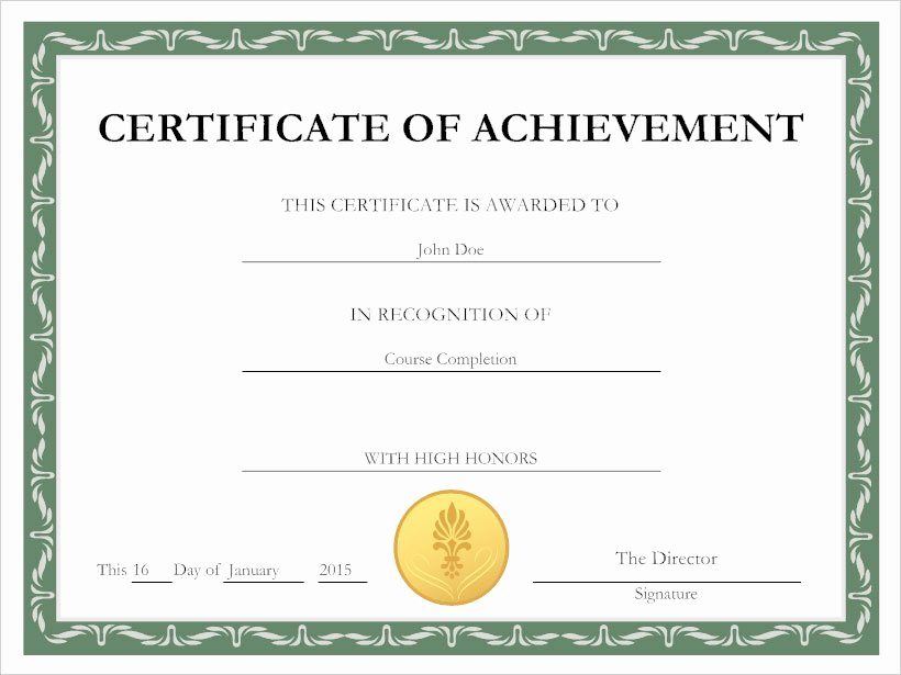 How to Make A Certificate Awesome Certificates Tips for Creating Custom Certificates