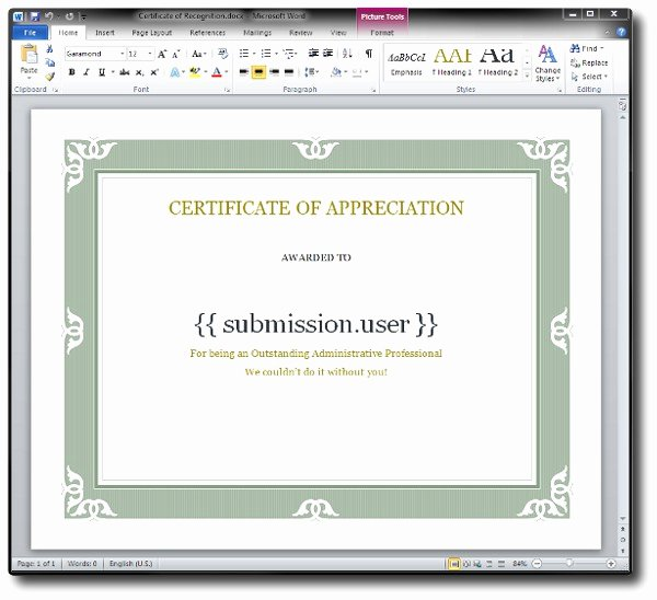 How to Make A Certificate Beautiful How to Create A Dynamic Certificate with Fluidreview