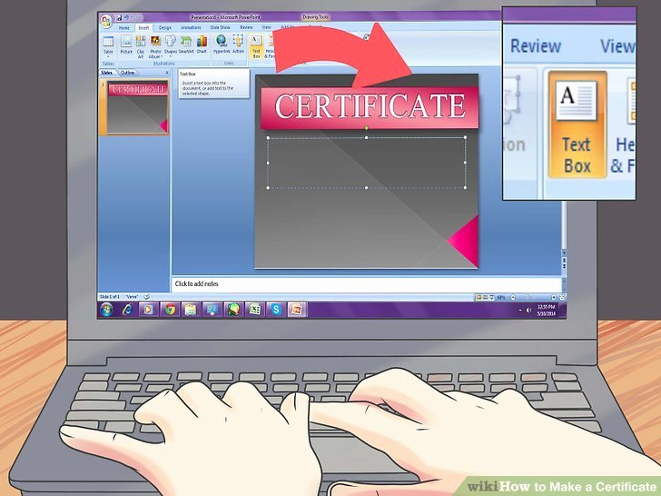 How to Make A Certificate Lovely 3 Ways to Make A Certificate Wikihow