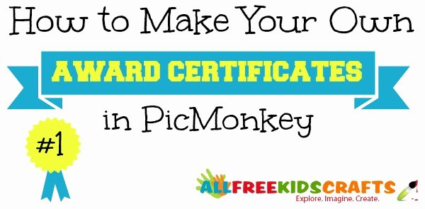 How to Make A Certificate Lovely How to Make Your Own Award Certificates