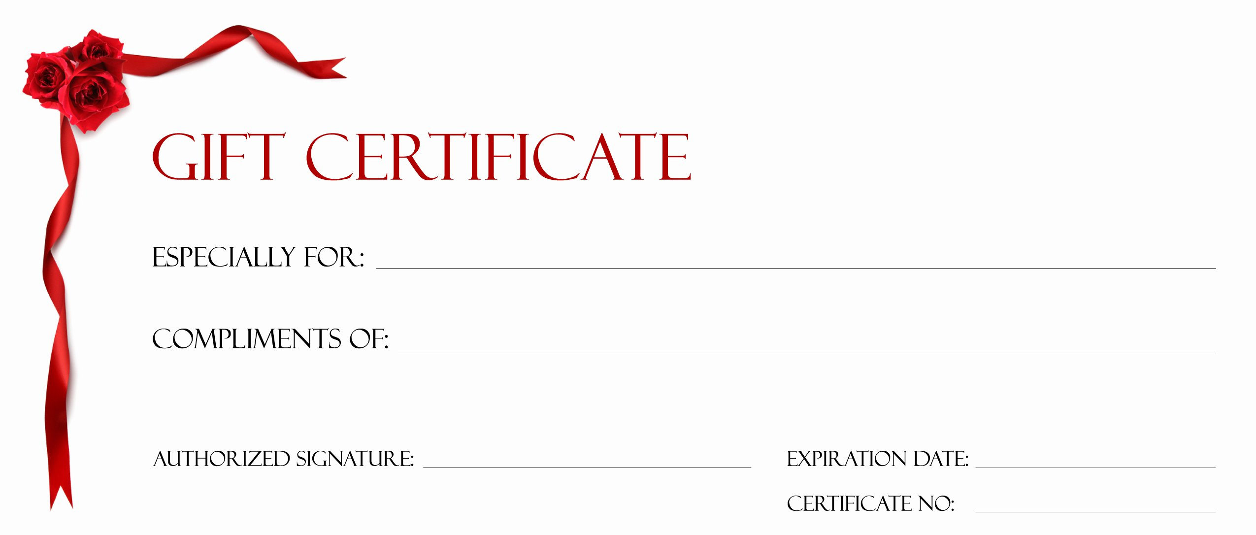 How to Make A Certificate New Gift Certificate Make Your Own