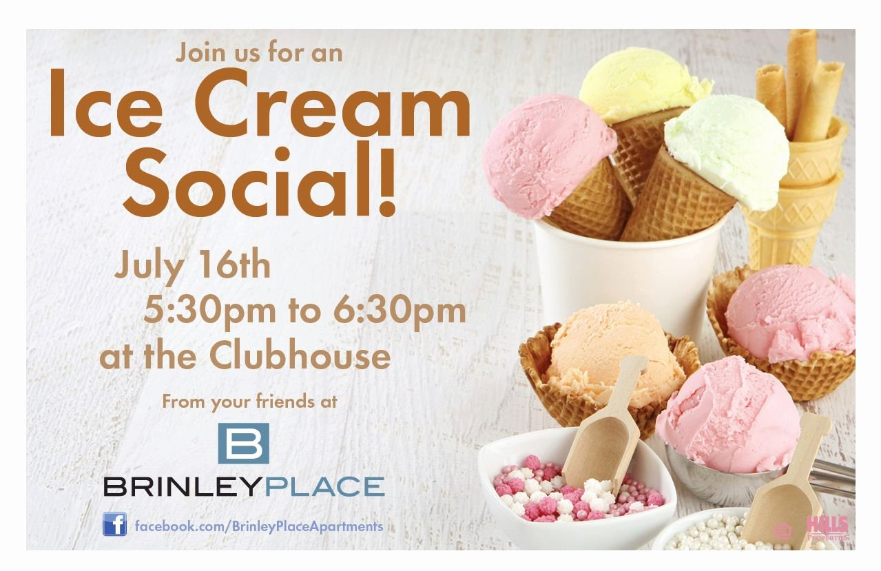 Ice Cream social Flyer Beautiful Bp S Ice Cream social Flyer Resident events