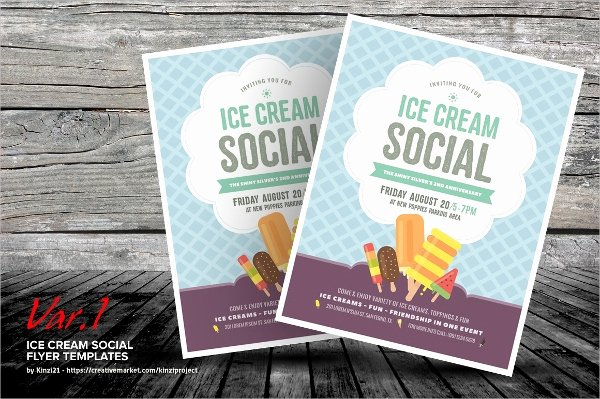 Ice Cream social Flyer Best Of 17 Ice Cream Flyer Templates Psd Ai Eps Vector Word