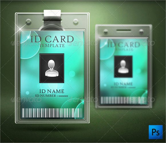 Id Card Template Word Fresh Free 35 Amazing Id Card Templates In Illustrator