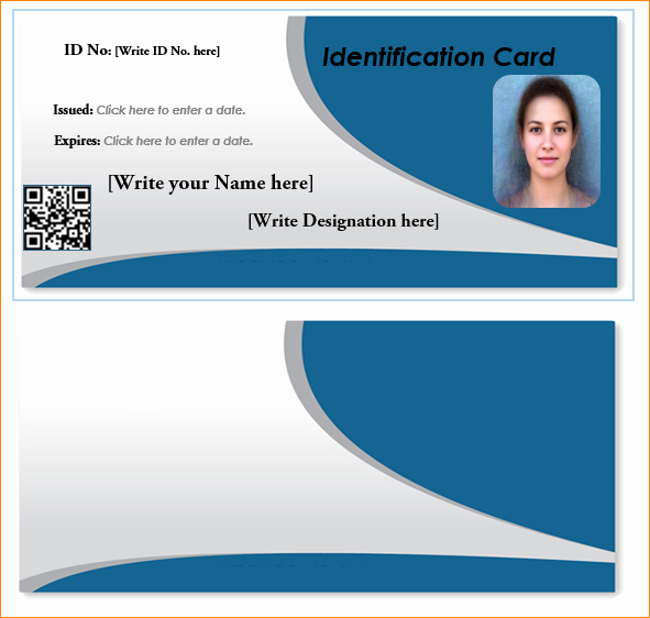 Id Card Template Word Lovely 7 Id Card Template Word