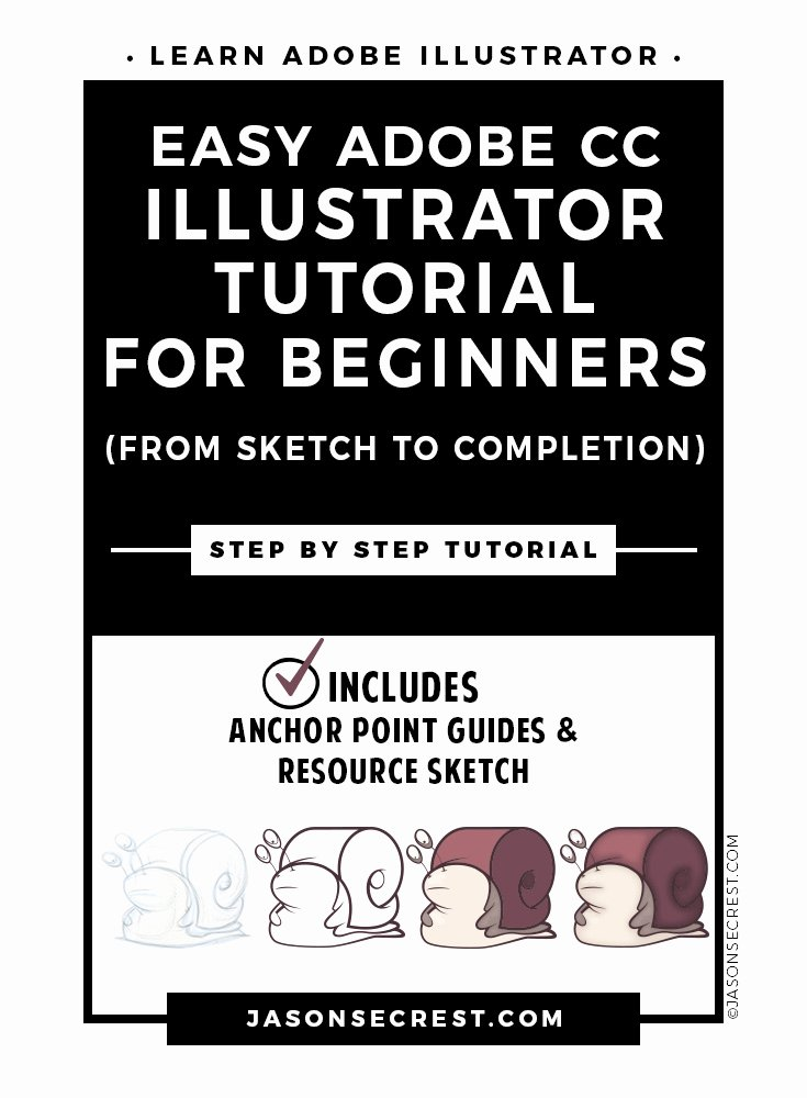 Illustrator Tutorials for Beginners Best Of Easy Adobe Illustrator Cc Tutorial for Beginners Jason