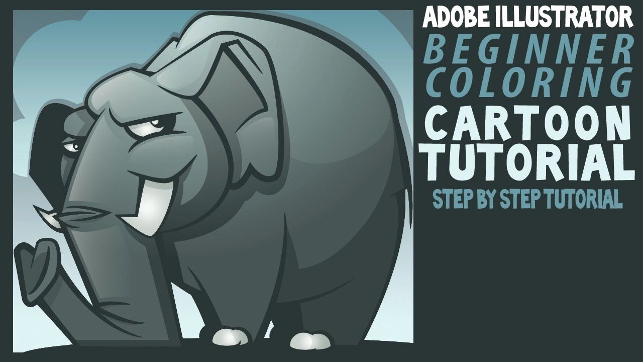 Illustrator Tutorials for Beginners Elegant Adobe Illustrator Tutorials for Beginners Elephant Color
