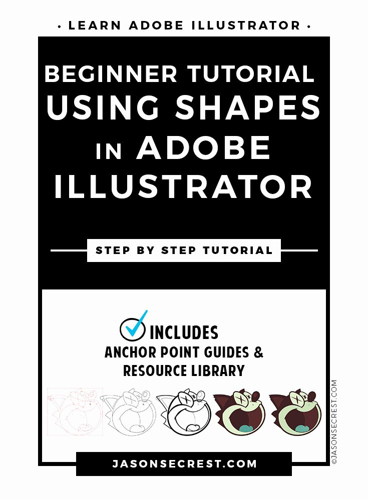 Illustrator Tutorials for Beginners Luxury Beginner Adobe Illustrator Tutorial Using Shapes Jason