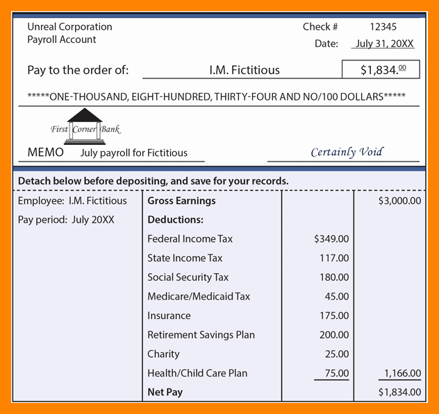 5 subcontractor pay stub