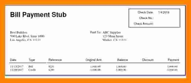Independent Contractor Pay Stub Template Inspirational 7 Independent Contractor Pay Stub Template
