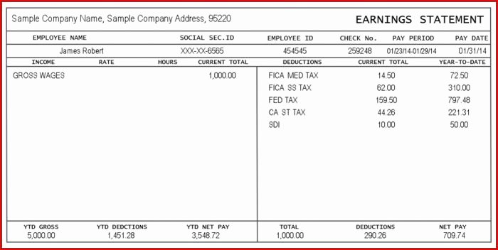 Independent Contractor Pay Stub Template Luxury Pay Stub Template for Self Employed Template Resume