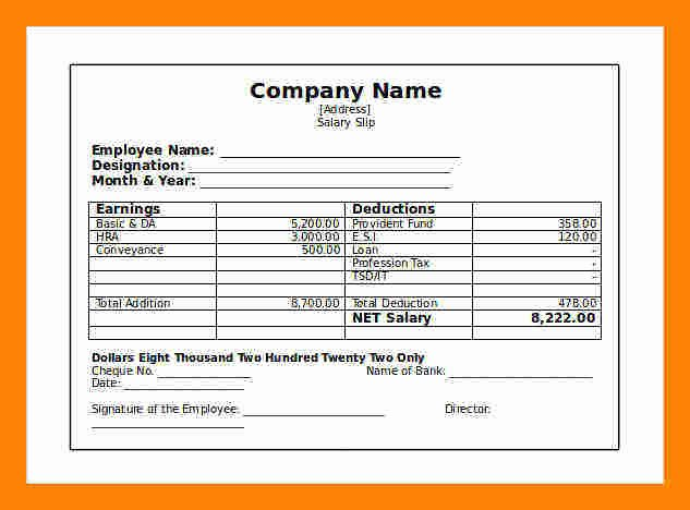 Independent Contractor Pay Stub Template Unique 7 Independent Contractor Pay Stub