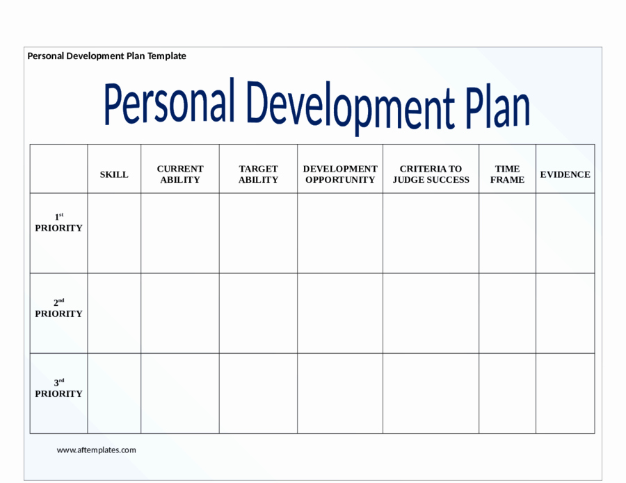 Individual Developent Plan Template Best Of 2019 Personal Development Plan Fillable Printable Pdf