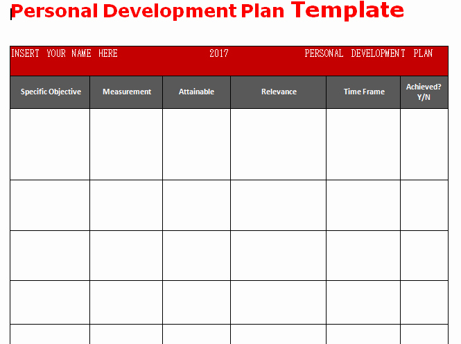 Individual Developent Plan Template Best Of Get Personal Development Plan Template Word Microsoft