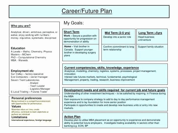 Individual Development Plan Examples Elegant Individual Development Plan Examples for Project Managers