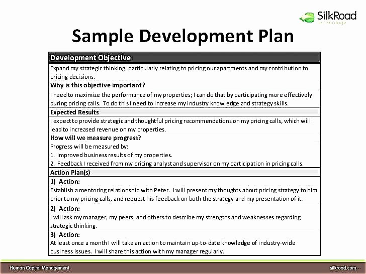 Individual Development Plan Examples Fresh Individual Development Plan for Employees