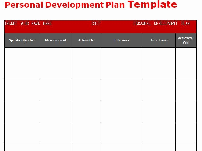 Individual Development Plan Template Lovely Get Personal Development Plan Template Word – Microsoft