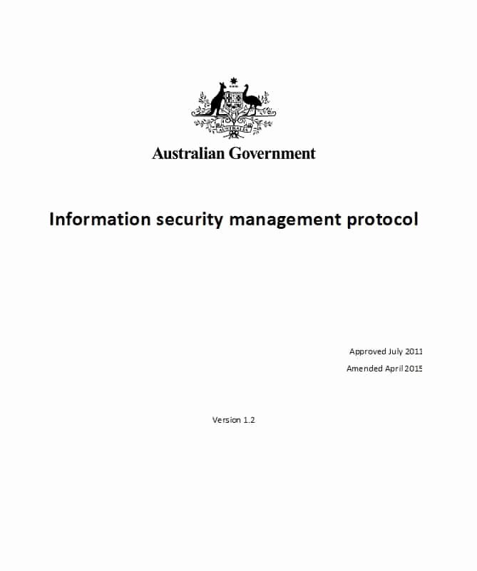 Information Security Policies Templates Awesome 42 Information Security Policy Templates [cyber Security