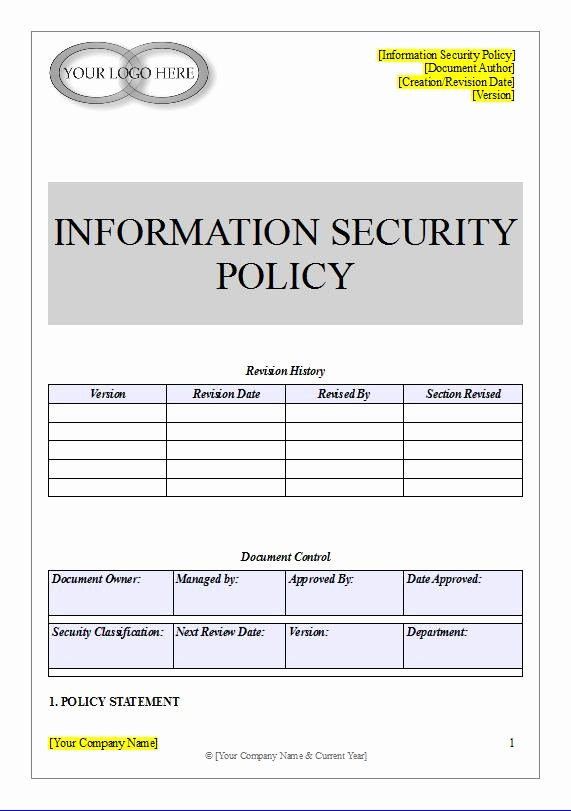 Information Security Policies Templates Inspirational Anti Money Laundering Policy & Procedure