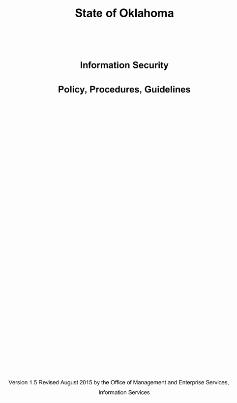 Information Security Policies Templates Lovely Download Information Security Policy and Procedures for