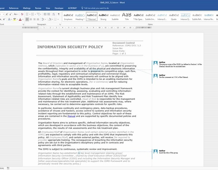 Information Security Policies Templates New Creating An Information Security Policy for Your Business