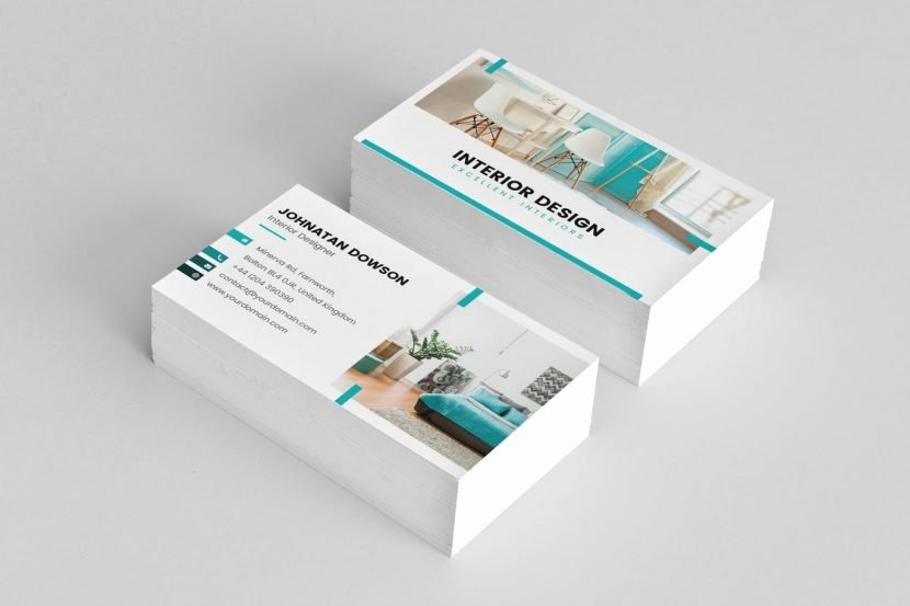 Interior Design Business Cards Beautiful Business Card – Interior Design