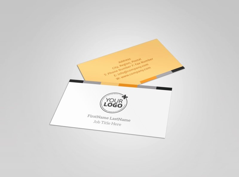 interior designer services business card template