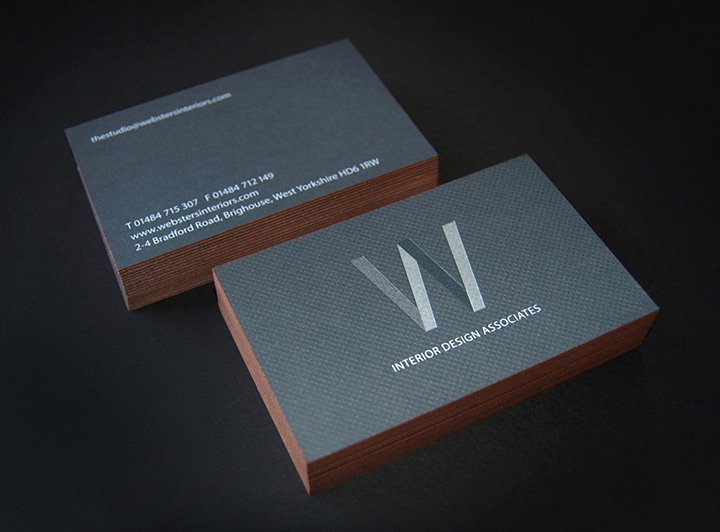Interior Design Business Cards Beautiful Websters Interior Designers Lovely Stationery Curating