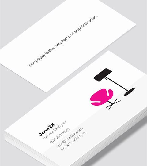 Interior Design Business Cards Elegant Interior Designer Business Card Modern Design