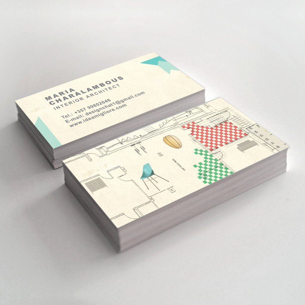 Interior Design Business Cards Inspirational Interior Design Business Card Slim Image