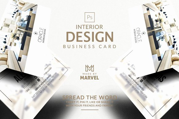 Interior Design Business Cards Lovely Interior Design Business Card Kreativ Graphic