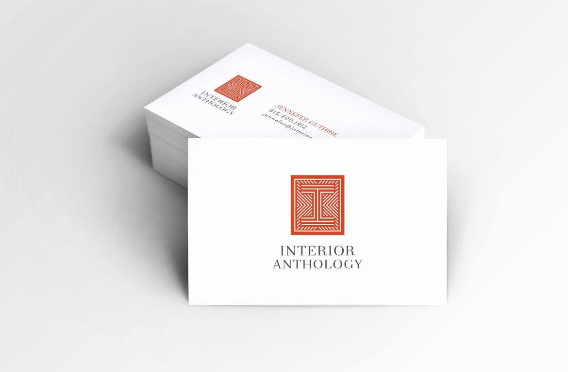 Interior Design Business Cards Lovely Logo & Identity Design for Interior Designer