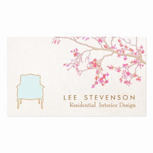 Interior Design Business Cards New Interior Design French Chair Staging Decorator Double