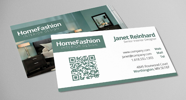 Interior Design Business Cards Unique 21 Interior Design Business Card Templates Ai Ms Word