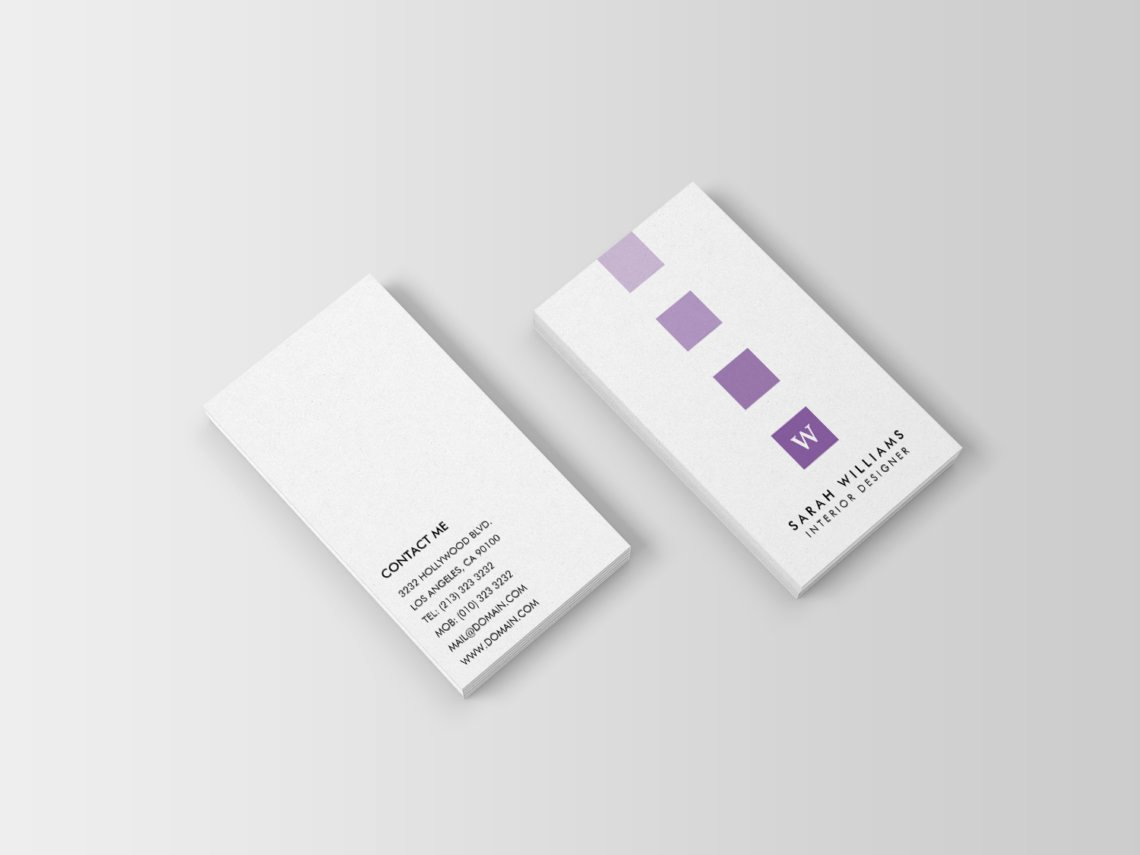 Interior Design Business Cards Unique Interior Designer Monogram Business Cards J32 Design
