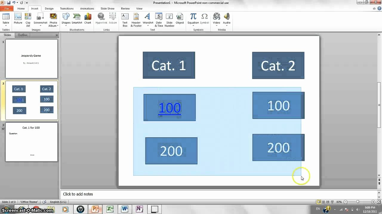 Jeopardy Powerpoint Template 5 Categories New How to Make Jeopardy Game On Powerpoint 2010