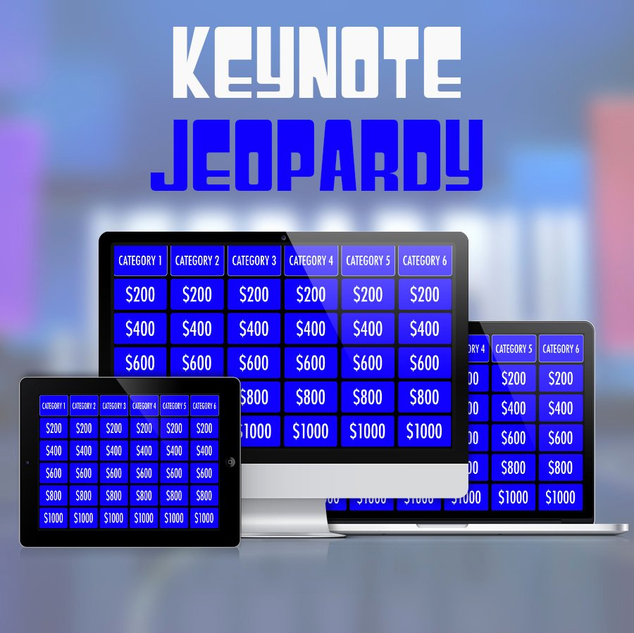 Jeopardy Powerpoint Template 5 Categories New Keynote Jeopardy Template for Ipad and Widescreen