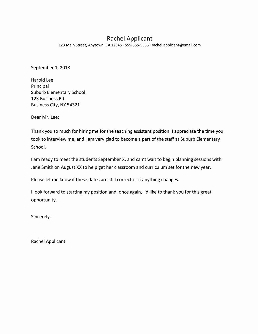 Job Offer Thank You Letter Beautiful Screenshot Of A Job Offer Thank You Letter Example