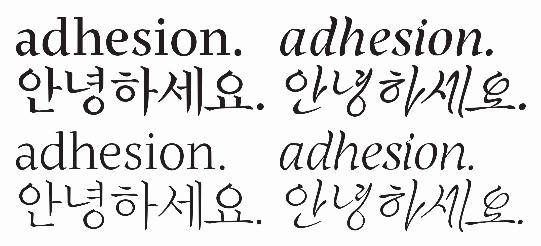 Korean Alphabet Letters Az Lovely Going Global the Last Decade In Multi Script Type Design
