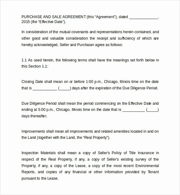 Land Purchase Agreement form Pdf New Land Purchase Agreement Template 17 Download Free